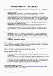 How To Write A Resume Teenager Fresh Resume Objectiveamples For