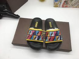 Boys Designer Sandals Fendi Kids Sandals Slides Luxury Designer Strap Shoes Girls