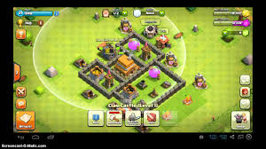 Town Hall 4 Base Design Clash Of Clans Town Hall 4 Base Design Youtube