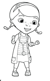 Doc Mcstuffins Stuffy Coloring Pages At Getdrawingscom Free For