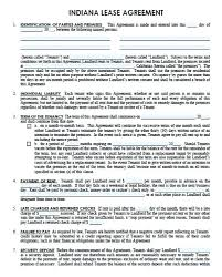 Lease Agreement Template Basic Rental Or Residential Word Document Beauteous Apartment Rental Agreement Template Word