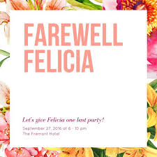 Farewell Party Invitation Templates - Canva