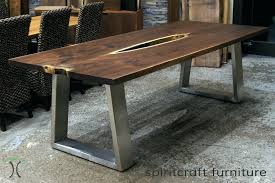 full size of coffee table metal legs wood top stirring live edge and slab dining conference