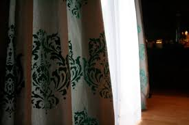 Drop Cloth Curtains Tutorial Painted Drop Cloth Curtains