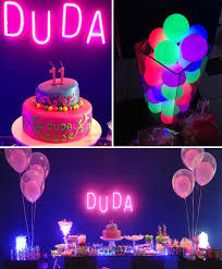 Lighting for parties ideas Disco Neon Themed Tween Party With So Many Fabulous Ideas Via Karas Party Ideas Karaspartyideas Copernicoco Karas Party Ideas Neon Party Idea Supplies Ideas Planning Cake