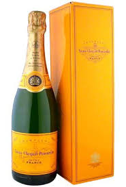 veuve clic brut yellow label with