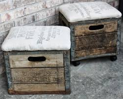 milk crate ottomans crate stoolscrate ottomandiy