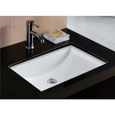 undermount bathroom sink. Simple Sink Wells Sinkware Rhythm Series White China Undermount Bathroom Sink On U
