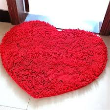 heart shaped rug rugs crochet pink ed