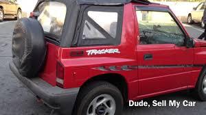 1998 Chevrolet Tracker 4x4 - YouTube
