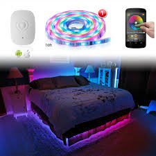 iphone controlled lighting. XKGLOW XK SILVER App WiFi Controlled Home Interior Fruniture Flexible Ultra Slim Neon Accent Light Kit Iphone Lighting T