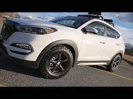 2017 Hyundai Tucson Bfgoodrich Ko2 Tire Review Compact Suv Youtube