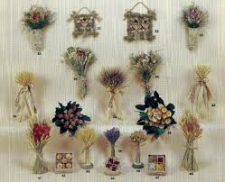 Dried flowers wholesale designs brochure