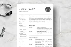 Clean Professional Resume Clean Resume Template Simple Professional Cv Template