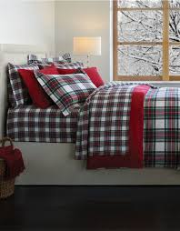 distinctly home stewart plaid flannel duvet cover made in portugal hudson s bay