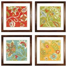 canvas wall art sets framed set of 3 designs umbra mapster