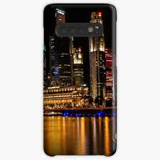 Design Skin Phone Case Singapore Nightscape Singapore Skyline Case Skin For Samsung Galaxy