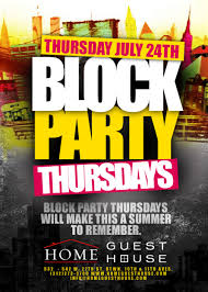 Block Party Flyer Block Party Party Flyer Block Party Party