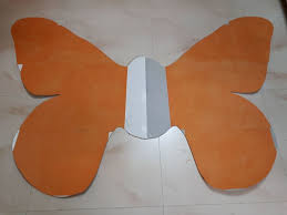Full Size Butterfly For Fancydress 6 Steps With Pictures