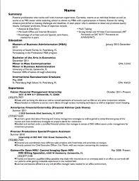 resume for a job example sample job resume management job resume