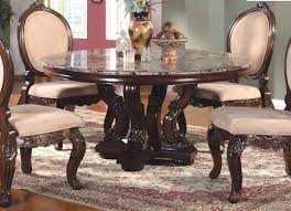 7 antique round dining room table