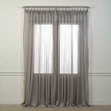 Wide Window Treatments amazon half price drapes shchvol196sldw doublewide voile 3383 by xevi.us