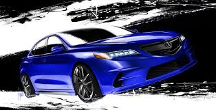 acura tlx 2015 blue. 2015 acura tlx by galpin auto sports tlx blue