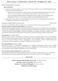 Resume Sample - Finance Tech Executive Page 2