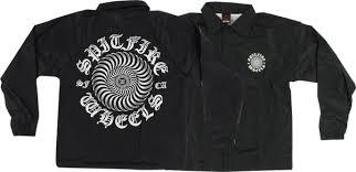 spitfire windbreaker. spitfire posse swirl coaches jacket - mens windbreaker
