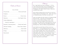 sample of obituary best photos of funeral program examples example funeral program