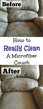 who knew these two ings could completely clean a microfiber couch