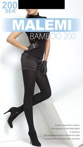 <b>Колготки</b> женские <b>Malemi Bamboo</b> 200, цвет: Nero (черный ...