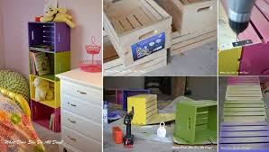 Wood crate furniture diy Wall Display Size Your Crates To Fit Your Books For The Perfect Fit Dont Forget To Secure The Top Crate To Stud In The Wall To Prevent Forward Tipping Ana White Crate Furniture Ideas Ana White Woodworking Projects