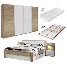 6 Teiliges Schlafzimmer Set Köln San Remo Eiche