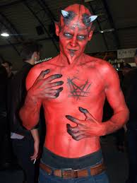 image result for devil makeup male