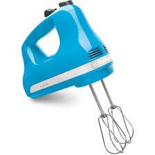 kitchenaid ultra power 5 sd crystal blue hand mixer