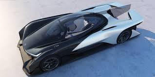 new release electric carFaraday Futures FFZERO1 concept  Business Insider