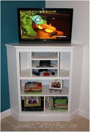 Tall White Tv Stand #12131