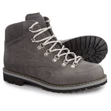 alico made in italy tahoe hiking boots leather for men in greased grey