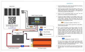 12v solar panel wiring diagram gooddy org marine wire size calculator at 12v Wiring Chart
