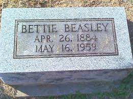 Bettie Stinson Beasley (1884-1959) - Find A Grave Memorial