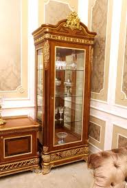 2015 0062 Italiaanse Klassieke Antieke Woonkamer Display Showcase