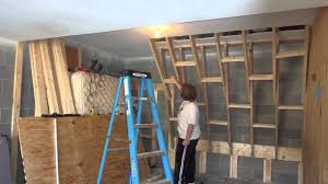 Small Picture Home Climbing Wall Construction 2 YouTube
