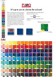 Kato Polyclay Mixing Chart Fimo Polymer Clay Colormix Polymer Clay Tools Polymer