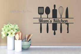 kitchen wall stickers mums kitchen with utensils kitchen wall decal sticker kitchen wall art stickers amazon on kitchen wall art stickers amazon with kitchen wall stickers estudia espana