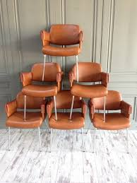 gautier furniture prices. Mid-Century Leatherette Dining Chairs By Pierre Gautier Delaye For Airborne, Set Of 6 Furniture Prices