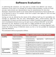 Training Report Templates Free Sample Evaluation Template