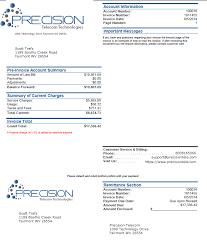 Ptt Standard Invoice