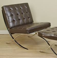 ... Cozy Design Barcelona Style Chair Contemporary Ideas Barcelona Style  Dark Brown Chair ...