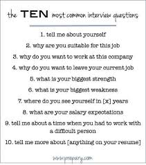 Interview Questions And Answers For Office Assistant 10 Most Asked Interview Questions Most Common Interview
